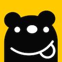 飢餓黑熊logo